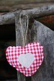 Corazón hecho a mano imagen de archivo libre de regalías