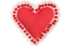 Corazón hecho a mano Fotografía de archivo libre de regalías