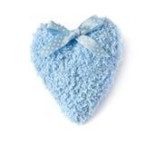 Corazón hecho punto Imagen de archivo libre de regalías