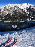 Corazón helado imagen de archivo libre de regalías