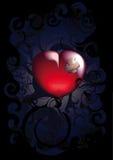 Corazón herido Fotografía de archivo libre de regalías