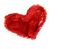 Corazón I usted Imagenes de archivo