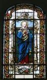 Corazón inmaculado de la Virgen María Fotos de archivo