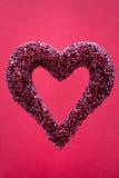 Corazón Jeweled Imágenes de archivo libres de regalías