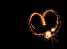 Corazón ligero Foto de archivo libre de regalías