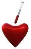 Corazón médico Imágenes de archivo libres de regalías