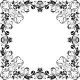 Corazón-marco vectorizado Imagen de archivo