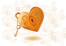 Corazón mecánico Imágenes de archivo libres de regalías