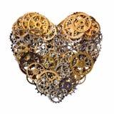 Corazón mecánico fotos de archivo libres de regalías