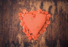 Corazón minúsculo del daño Fotos de archivo