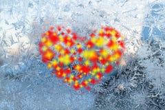 Corazón multicolor Fotos de archivo libres de regalías