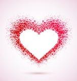 Corazón musical Foto de archivo libre de regalías