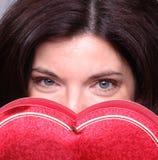 Corazón ocultado Imagenes de archivo
