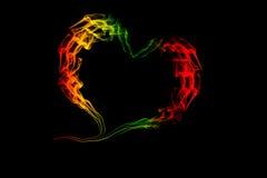 Corazón para el amor y el día de San Valentín Imagenes de archivo