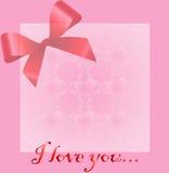 Corazón para el día de tarjeta del día de San Valentín Imagen de archivo libre de regalías