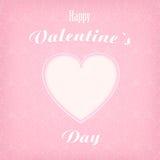 Corazón para el día de tarjeta del día de San Valentín Imagen de archivo