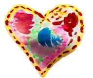 Corazón para el día de tarjeta del día de San Valentín fotos de archivo libres de regalías
