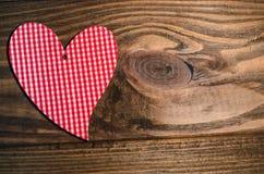 Corazón para el día del ` s de la tarjeta del día de San Valentín Fotos de archivo libres de regalías