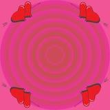 Corazón perforado por una flecha libre illustration