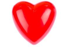 Corazón plástico Fotografía de archivo libre de regalías