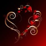 Corazón precioso stock de ilustración