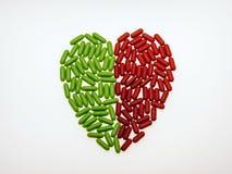 Corazón que cura Fotografía de archivo libre de regalías