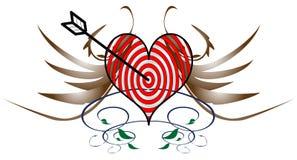 Corazón quebrado Imagen de archivo