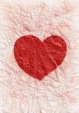 Corazón rojo. Imágenes de archivo libres de regalías