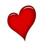 Corazón rojo Imagen de archivo