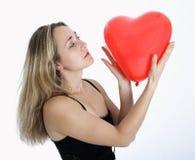 Corazón rojo 2 imagen de archivo