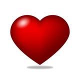 Corazón rojo Imagen de archivo libre de regalías