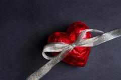 Corazón rojo foto de archivo