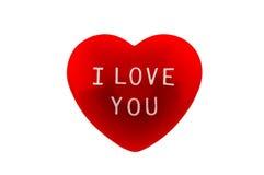 Corazón rojo Foto de archivo libre de regalías