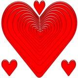 Corazón rojo libre illustration