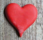 Corazón rojo Fotos de archivo