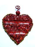 Corazón rojo Imágenes de archivo libres de regalías