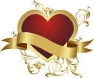 Corazón rojo. Imagen de archivo libre de regalías