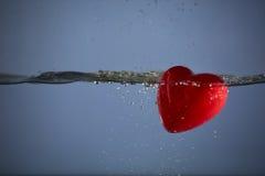 Corazón rojo Fotografía de archivo
