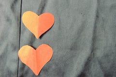 Corazón rojo Fondo para el día del ` s de la tarjeta del día de San Valentín fotos de archivo
