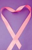Corazón rosado Fotos de archivo libres de regalías