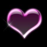 Corazón rosado Imagenes de archivo