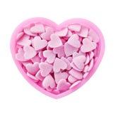 Corazón rosado Fotografía de archivo libre de regalías