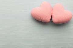 Corazón rosado Foto de archivo
