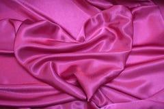 Corazón rosado - fotos de papel de tarjetas de la tarjeta del día de San Valentín romántica Fotografía de archivo