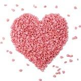 Corazón rosado - símbolo del amor Imagenes de archivo
