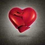 Corazón roto Foto de archivo libre de regalías