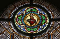 Corazón sagrado de Jesús imagenes de archivo