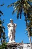 Corazón sagrado de la estatua de Jesús Fotografía de archivo