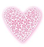 Corazón solo ilustración del vector