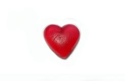 Corazón solo Desintegración y final de la relación Foto de archivo libre de regalías